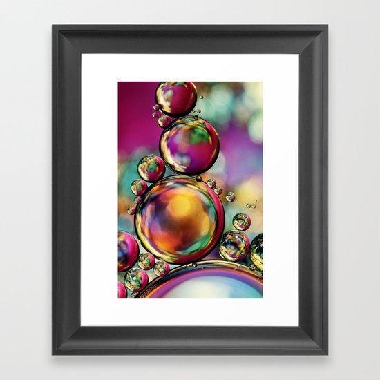 Explosion of Colour Framed Art Print