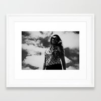 polka Framed Art Prints featuring Polka  by Bub's Store