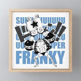 Post-Timeskip Franky Framed Mini Art Print