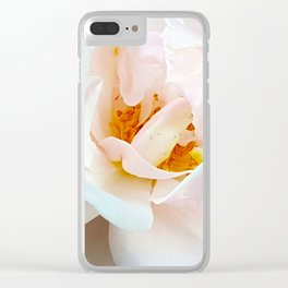 Finale - Last White Rose of the Summer Clear iPhone Case