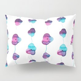 String of Life ~ Flowers ~ Watercolor Painting ~ By Sky Marcano Pillow Sham