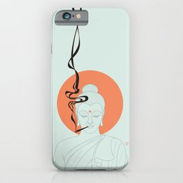 Buddha : Give Peace a Chance! iPhone Case