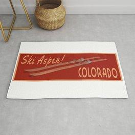 Ski Aspen Colorado Rug