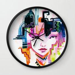 Tribe Wall Clock