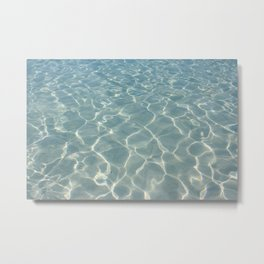 Dive Right In.... Metal Print