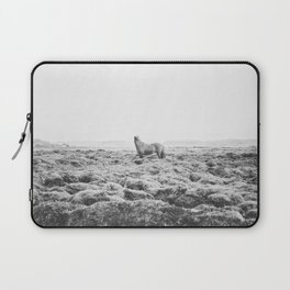 Horse Print with a Modern Style Laptop Sleeve