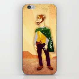 The Good, The Bad, and The Unicorn iPhone Skin