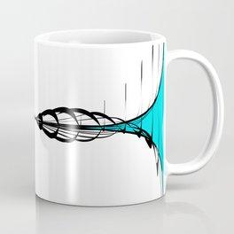 Organic waves in motion- wave interference Coffee Mug