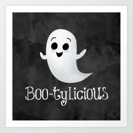 Boo-tylicious Art Print