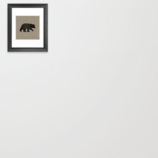 Black Bear Silhouette by mylifeisacartoon