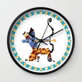 Rama Pixel Art Wall Clock
