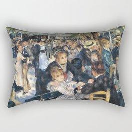 Dance at Le Moulin de la Galette by Renoir Rectangular Pillow