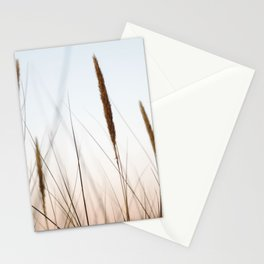 Beach grass III | Calm natural fine art print | Netherlands Stationery Cards