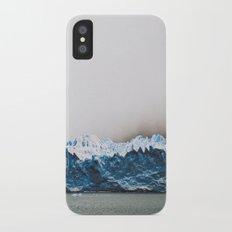 Argentinian glacier iPhone X Slim Case