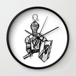 Demediado Wall Clock