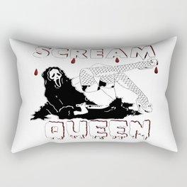 Scream Queen Rectangular Pillow