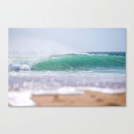 Sea Glass Waves Canvas Print