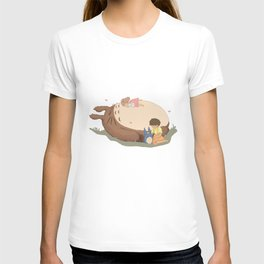 Sleeping Neighbour toto ro T-shirt