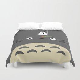 Cute Totoro Duvet Cover