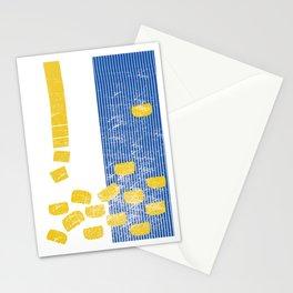 Gnocchi - Italian food Stationery Cards