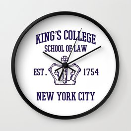 King's College School Wall Clock