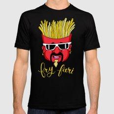 Fry Fieri Mens Fitted Tee MEDIUM Black