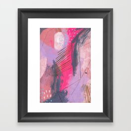 i wish i could tell you but there isn't a word for it Framed Art Print
