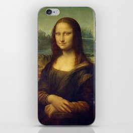 Classic Art - Mona Lisa - Leonardo da Vinci iPhone Skin