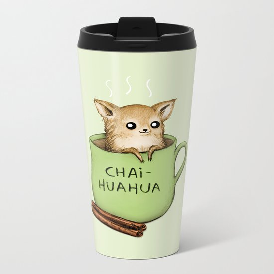 Chaihuahua Metal Travel Mug