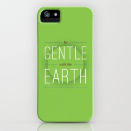 Rules for Living #15 iPhone Case