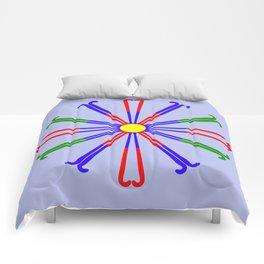 Field Hockey Stick Design Comforters