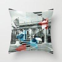 roman Throw Pillows featuring Roman Style by Marko Köppe