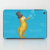 seahorse iPad Cases featuring Seahorse by Lili Batista