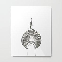 Architecture: Alexanderplatz Metal Print
