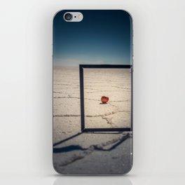 Frame, Apple & Salt iPhone Skin