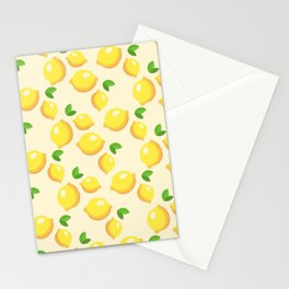 Lemon limon seamless art colour lines triangle look rest eyes color new artist fun mixed pattern swe Stationery Cards