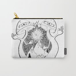 Mushroom Mountain Carry-All Pouch