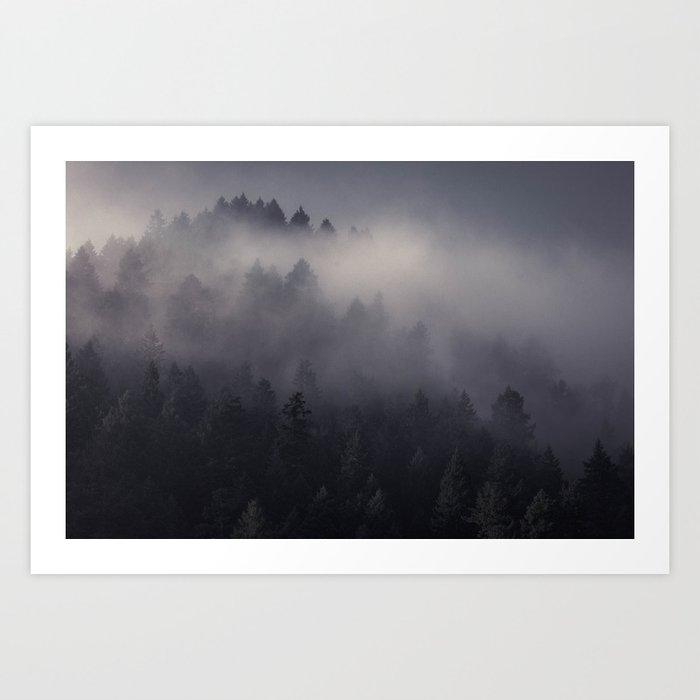 Eagle Mist Art Print