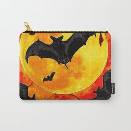Bloody Full Moon Bats Carry-All Pouch