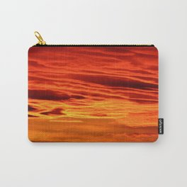 Flame Coloured Sunset Sky Carry-All Pouch