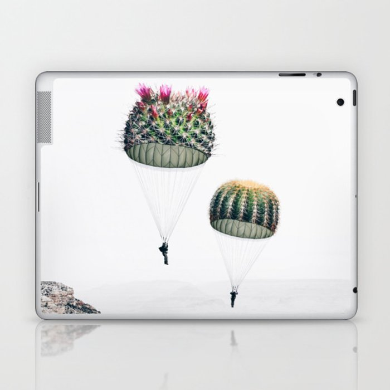 Flying Cacti Laptop & iPad Skin