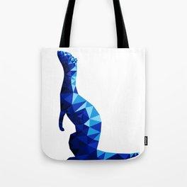Geometric Ferret Tote Bag