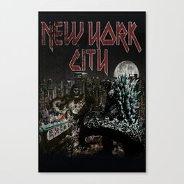 New York F$#ing City Canvas Print
