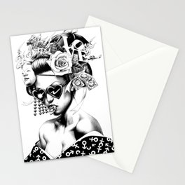 GEISHA--ART Stationery Cards