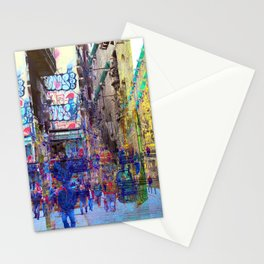 culled from cultures pretending reason is opinions Stationery Cards