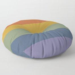 Pretty Rainbow Baby Floor Pillow