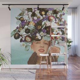 Floral Fashions III Wall Mural