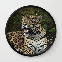 The Jaguar Wall Clock