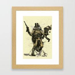 Retrobocop Framed Art Print