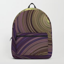 Colorful twirl Backpack